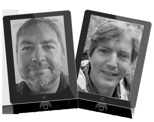 Jeremy Gislason and Simon Hodgkinson